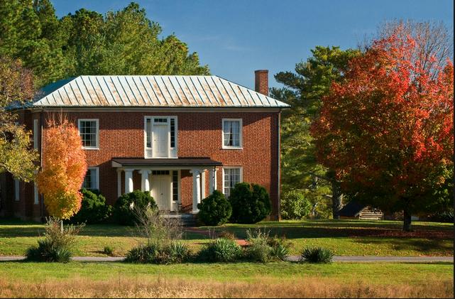 The Reynolds Homestead in Critz, Virginia