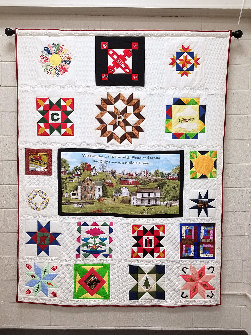 Rockingham Extension Center Quilt