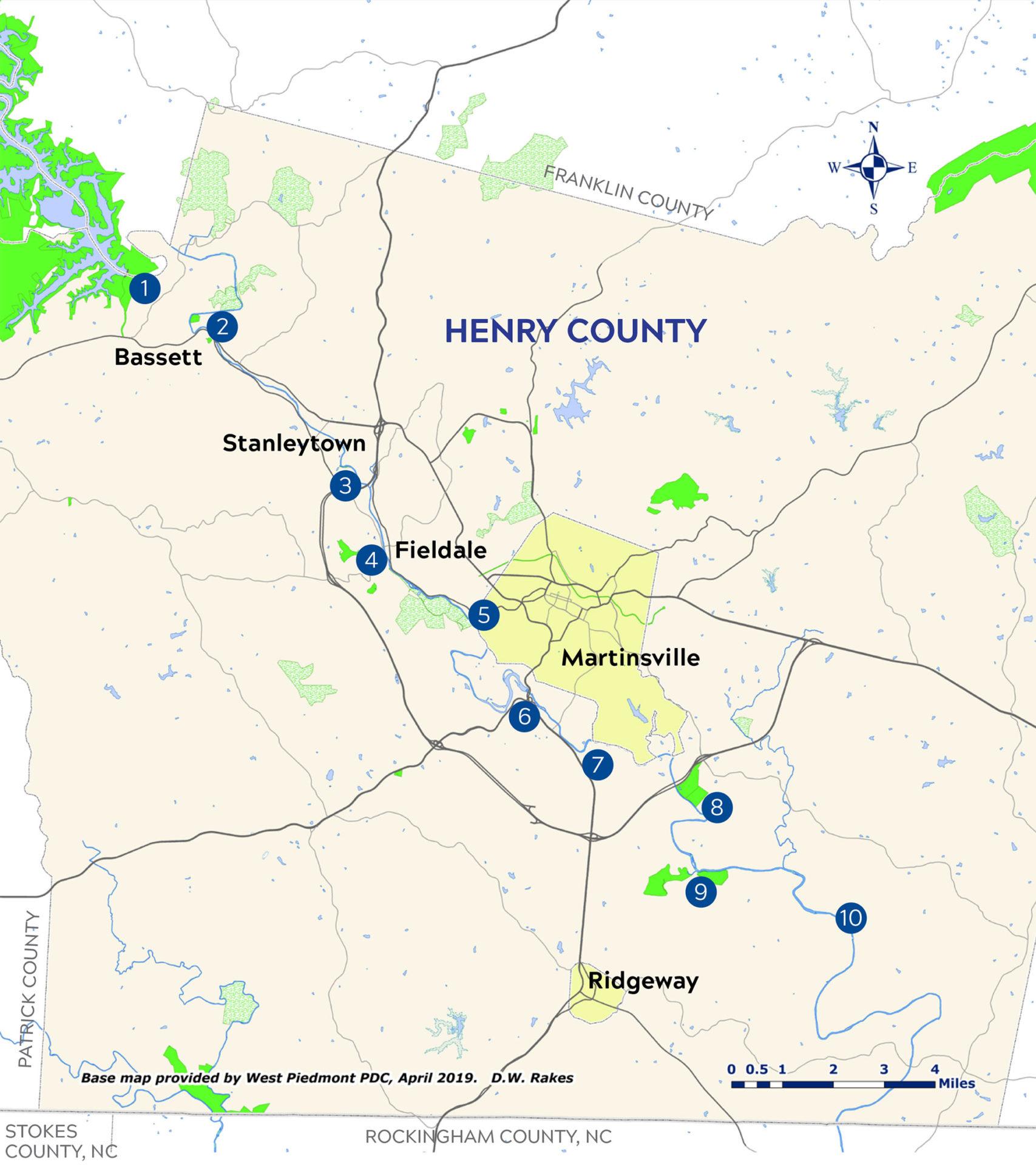 Blueway Map