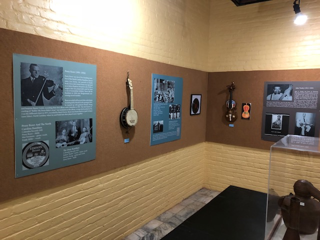 """""""Reliving our Roots: Music of Henry County,"""" an exhibit at Martinsville Henry County Heritage Center & Museum"""